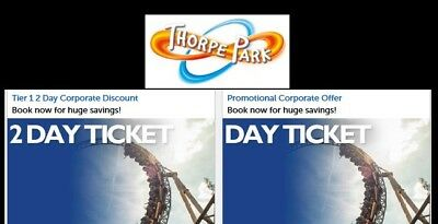 Thorpe Park,  Discounted Tickets