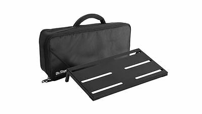 On-Stage GPB4000 Guitar/Keyboard Pedal Board w/ Case Effect Stompbox