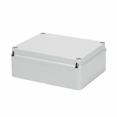 Electrical Plastic Enclosure Junction/Panel Box Gewiss 190 x 140 x 70mm IP56