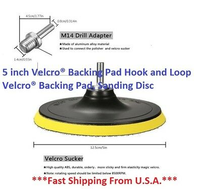 SPEEDWOX Hook and Loop Sanding Discs Pad Kit 3 Packs 1 Inches with Shank Drill Attachment Backing Pads and Soft Foam Layer Buffing Pad