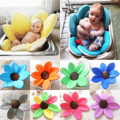 Cute Blooming Bath For Baby Infant Flower Lotus Petals Babies Washcloths Flowers