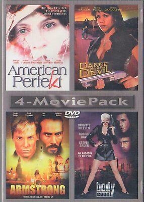 American Perfekt / Dance with the Devil / Armstrong / Body Count (DVD) New