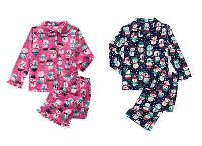 NWT Gymboree Snowman Fleece Pajama Set 12 18 24M 4 5/6 7/8,10/12 christmas