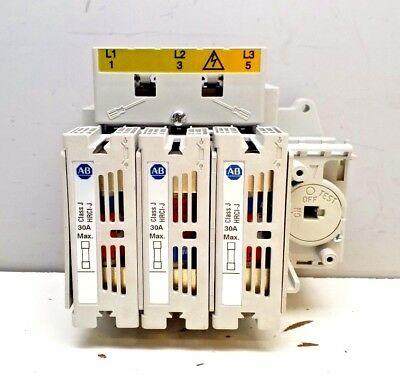 New Allen-Bradley 194R-J30-1753 Series A 30Amp  Rotary Disconnect Switch