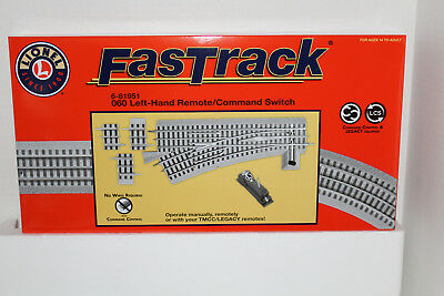 Lionel  #81951 Fastrack 060 Command Remote Left Hand Switch