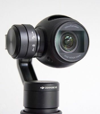 DJI Zenmuse X3 4K Camera and Gimbal for OSMO