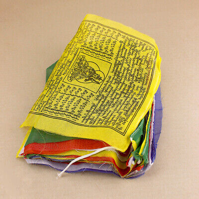 Tibetan Prayer Flags Large 6 metres long 24x23cm flags