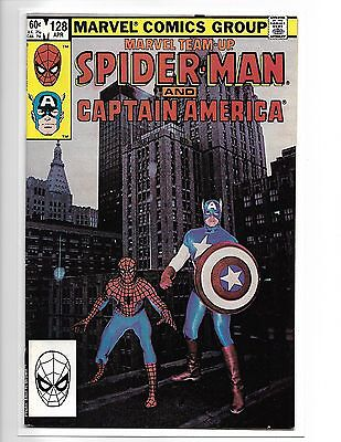 Marvel Team-Up #128 Spider-Man And Captain America