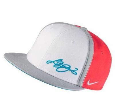 Nike Youth Unisex S+YA LeBron Summer Camp True SnapBack Hat (835930 671)Crimson