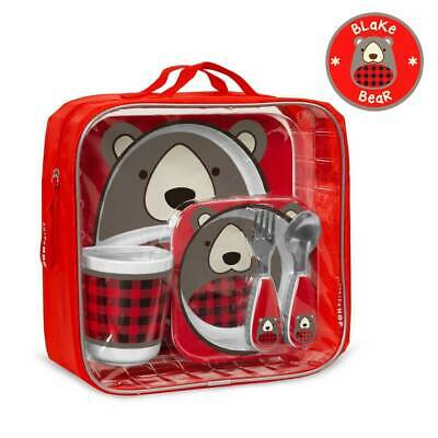 NEW Skip Hop Zoo Mealtime Gift Set - Bear (Limited Edition)