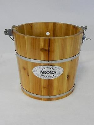 Aroma Original Ice Cream Maker 6 Qt. Bucket Only EXCELLENT