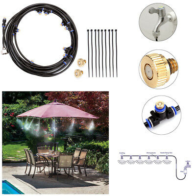 5/8/10/13/15/20M Outdoor Cooling Patio Misting System Water Mist Garden Spray