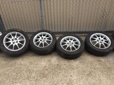 Toyota Corolla Wheels And  205/55/16 Tyres