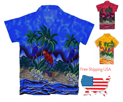 93996585 ... Short Sleeve Beach Blue hawaiian Aloha Shirts.