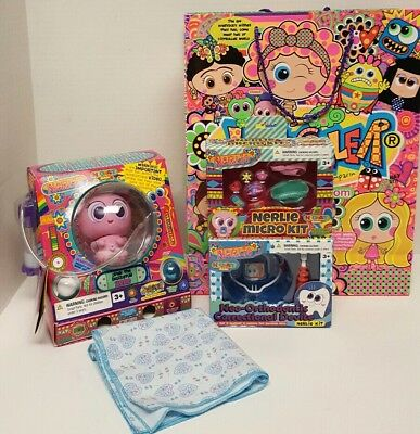 Nerlie Neonate Distroller Fidgets Machincuepa Doll and Tooth,Diaper,Pacifier Kit