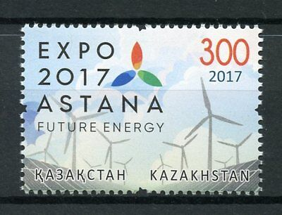 Kazakhstan 2017 MNH Astana Expo 2017 Future Energy 1v Set Science Stamps