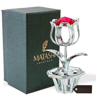 Chrome Plated Best Ever Lasting Tulip Flower Gift for Mother's Day by Matashi