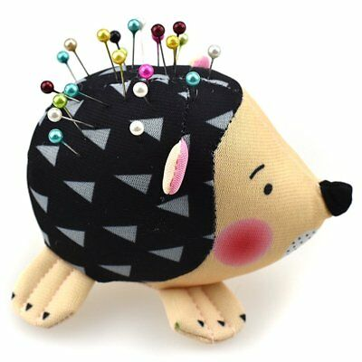 Pin Cushion Sewing Craft Tools Hedgehog Shape Soft Fabric Pins Holde