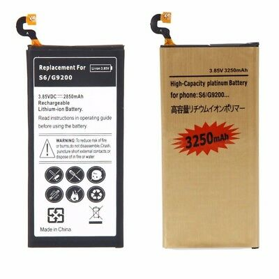 High-Capacity Internal Battery Replacement for Samsung Galaxy S6 G920 A P T V US