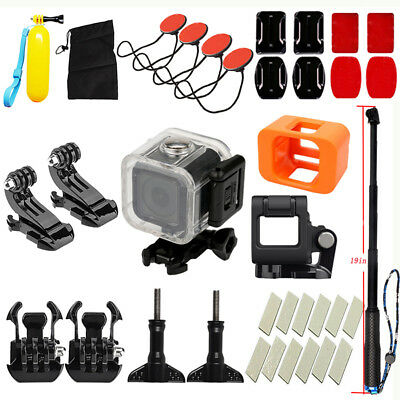 Fashional Accessories Set For GoPro Hero4/5 Action Session Camera Diving Surfing