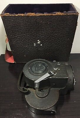 Victor Model 3 Cine 16mm Movie Camera With Case Working Condition