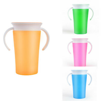 Modern Useful Children Miracle Safe Spill Free 360 Degree Training Drink Cup UK