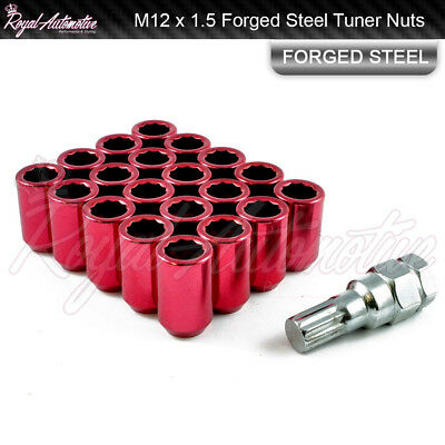Red BOLT Hex Alloy Metal Dust Valve Caps for Mazda MX5 2 3 5 6 MPS RX7 RX8 323 F