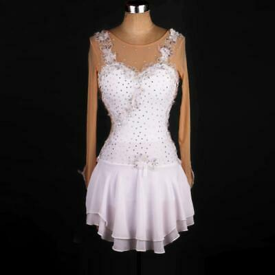 Girl Women latin chacha Ice Skating Dress Competition Ice Figure Skating Dress