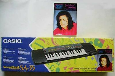 CASIO Electronic Keyboard SA-35 Piano Electronique - Michael JACKSON + PARTITION