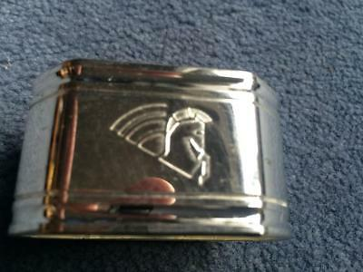 Air France Concorde Chrome or Pewter Napkin Ring
