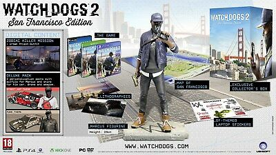 Watch Dogs 2 - San Francisco Edition (Nordic version full english game ) - ps4
