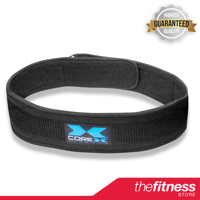 CoreX Neoprene Weightlifting Belt - 4 inch FAST FREE DELIVERY