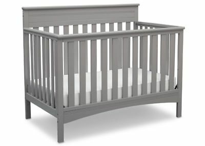 Convertible Crib Solid Wooden Baby Bed Crib Designed 4-1 Safe & Versatile Useful