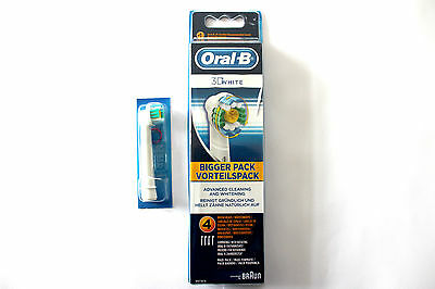 Oral-B 3D White Replacement Toothbrush Heads - Choose Amount - 100% GENUINE