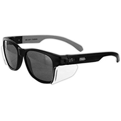 Eye Protection Y50BKAFGY Gemstone Classic Frame Safety Glass With Permanent Side
