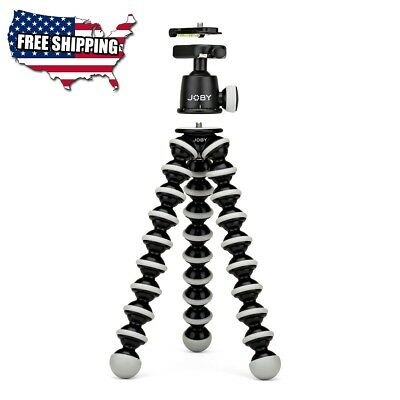 JOBY GorillaPod SLR Zoom. Flexible Tripod with Ballhead Bundle for DSLR and Mirr