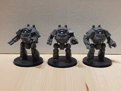 Games Workshop Horus Heresy Space Marine Contemptor Dreadnought Talon (3)