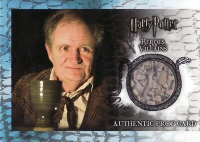 Harry Potter Heroes & Villains Slughorn's Cup from Hagrid's Hut P11 Prop Card