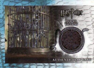 Harry Potter Heroes & Villains Pixie Cage Base P8 Prop Card