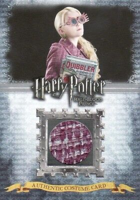 Harry Potter Half Blood Prince Update Luna Lovegood C7 Costume Card