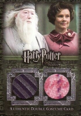 Harry Potter Order of the Pheonix Update 25 Case Incentive Ci4 Dual Costume Card