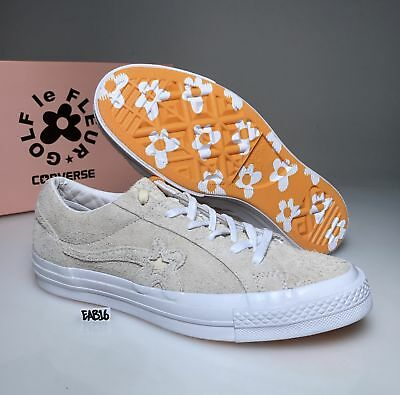 f0a80637bdc CONVERSE ONE STAR X GOLF WANG LE FLEUR SUEDE Vanilla Low Top Tyler The  Creator