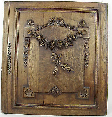 antique door cabinet panel style LOUIS XVI