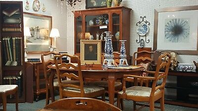 Vintage 1960's French Provincial Dining Room Suite-Solid Cherry!