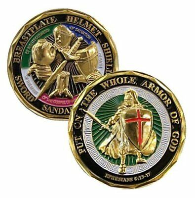 Challenge Coin - Put on the Whole Armor of God