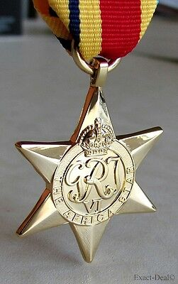 Canada Canadian - British & Commonwealth The Africa Star Campaign Medal WWII