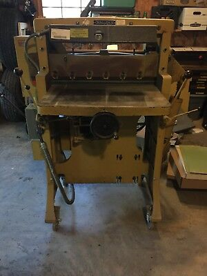 "Challenge Hydraulic  Paper Cutter HB 26"" Serial No. 19319"