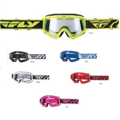 Fly Racing Focus Youth Goggles W/Clear Lens For Offroad ATV MX