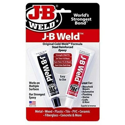 JB Weld Original Cold Weld Formula Steel Reinforced Epoxy 8265 for Household Rep