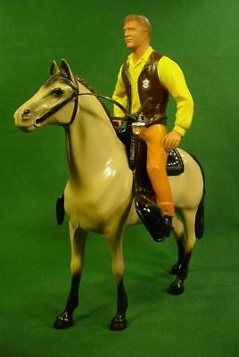 Vintage Hartland Western Gunsmoke Matt Dillon And Horse Figure